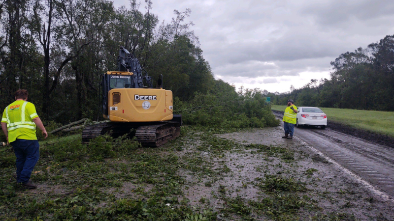 Hurricane Ida Closes Roads; DOT Scrambles to Reopen Them