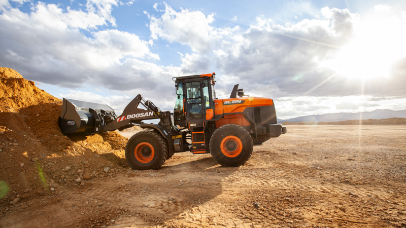 When a Compact Loader Just Won't Do: Wheel Loaders Still Hold Sway on Jobsite