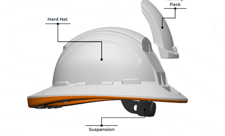 Cat's Connected Worker Puts Safety In a Hard Hat, Wearable Tag