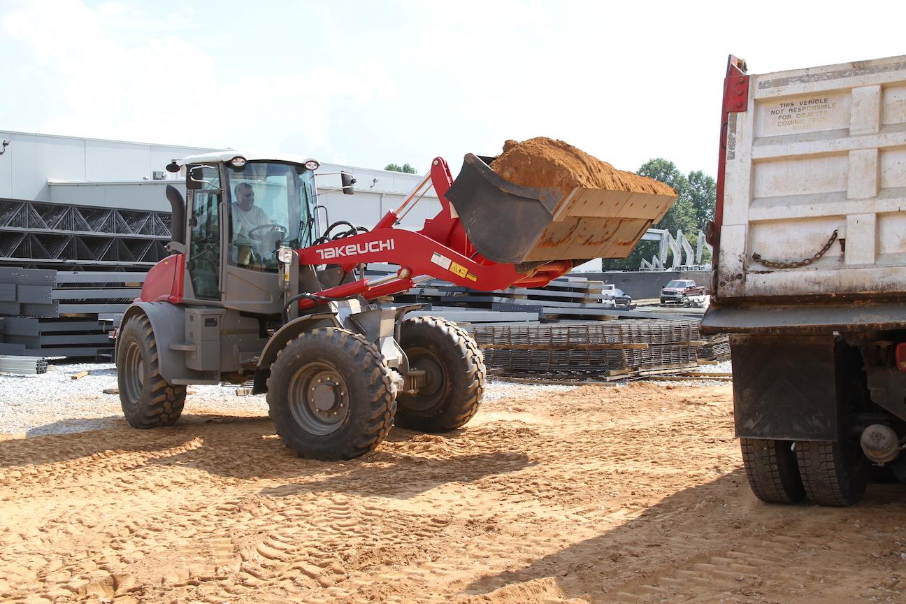 Takeuchi TW95 wheel loader