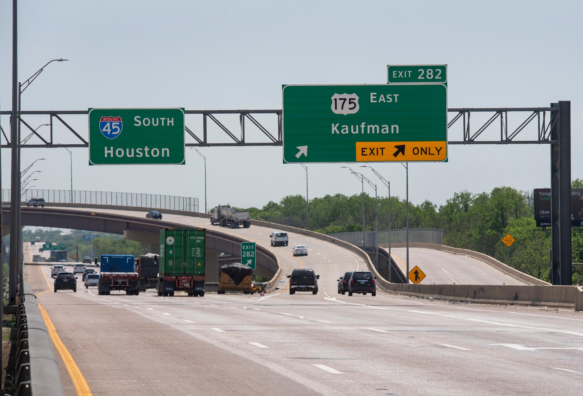 U.S. 175 Wright freeway Dallas Texas